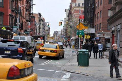 taxi amarillos yellow cab NYC