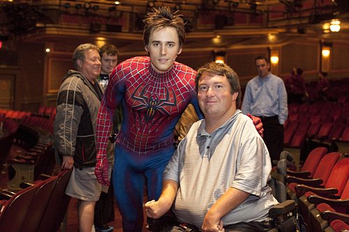 SpiderMan the musical nyc
