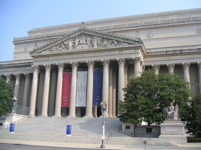 Archivos Nacionales Washington EEUU