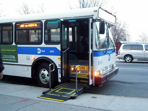 wheelchair bus MTA nyc