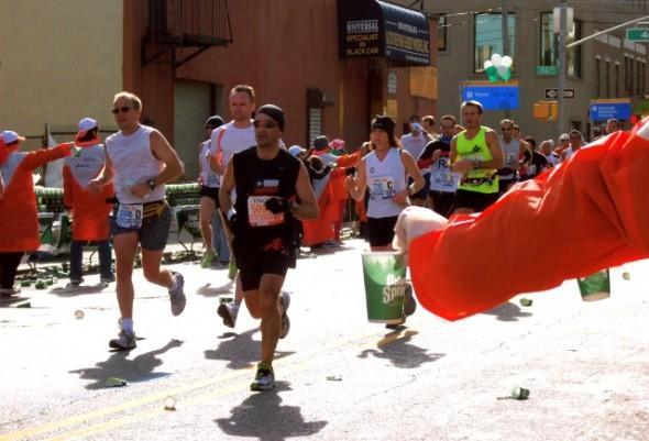 14 Mile Vernon Blvd et Jackson Avenue, Queens Marathon NYC
