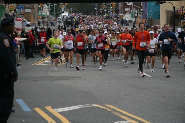 20 Mile – 138th Street, Bronx NYC marathon