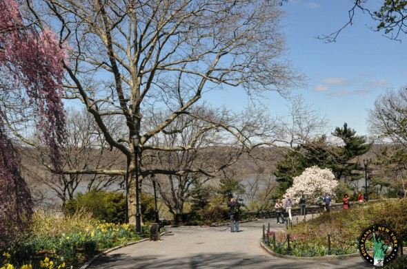 Fort Tryon Park primavera NY