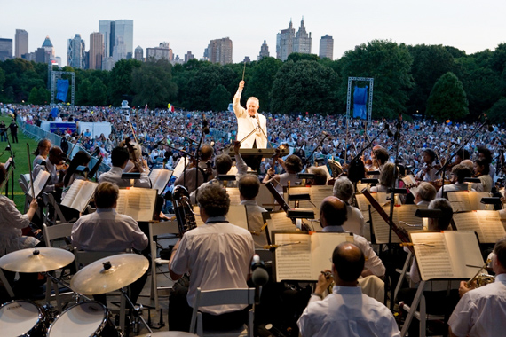 New York Philharmonic Concerts in the Parks nueva york