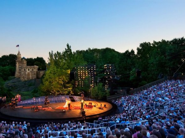 Shakespeare in the Park nueva york