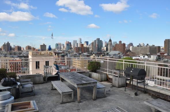 vista de nuestro apartamento en Nueva York