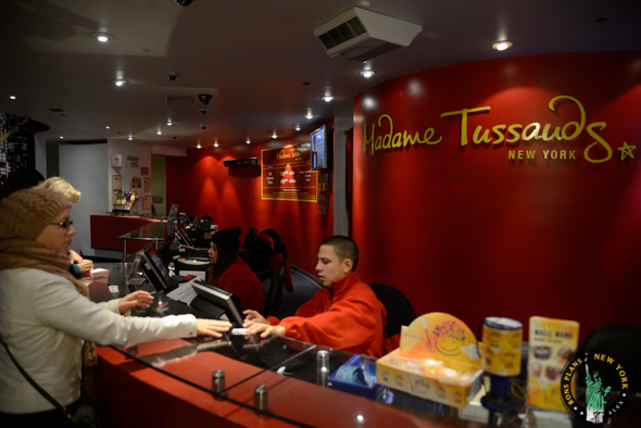entrada Tussauds MPVNY