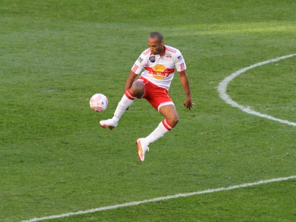 new york red bulls Thierry Henry