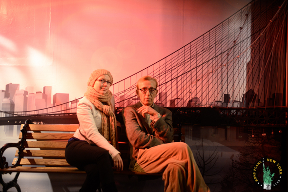 woody allen Tussauds MPVNY