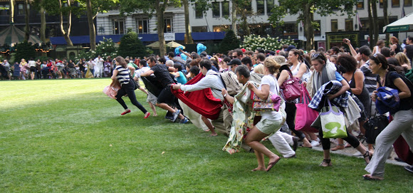 Bryant Park Summer Film Festival corriendo