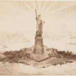 14 magníficas fotos de la construcción de la Estatua de la Libertad en París