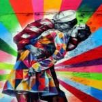 El Portafolio Mejores Planes Viaje Nueva York: el mural de Kobra, VJ Day in Times Square