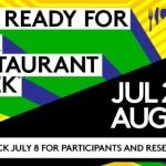 """Participen a la """"NYC Restaurant Week"""" del 22 de julio al 16 de agosto 2013"""