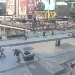 ¡Pasen en vivo en la webcam de Times Square!