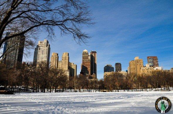 Central Park nieve MPVNY