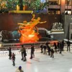 Las pistas de hielo abiertas para sus vacaciones de invierno en Nueva York