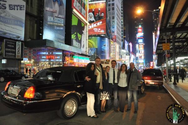 limusina Nueva York Times square MPVNY
