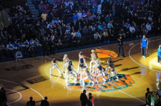 Madison square garden cheerleaders MPVNY