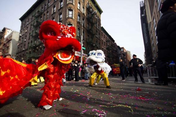 Nuevo Año chino chinatown MPVNY