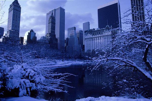 nieve y frío en Nueva York MPVNY