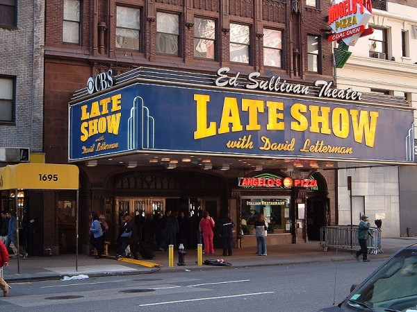 Late Show David Letterman MPVNY