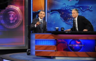 """The Daily Show"" with Jon Stewart Presents President Barack Obama"