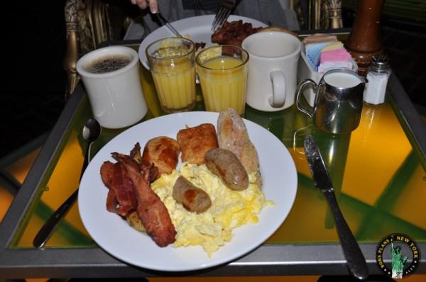 desayuno hotel NY MPVNY