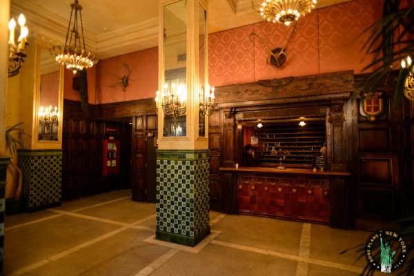 The Jane Hotel recepción MPVNY Nueva York