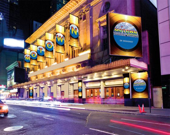 Motown the Musical MPVNY fachada