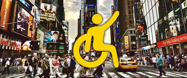 silla de ruedas en Nueva York MPVNY taxi