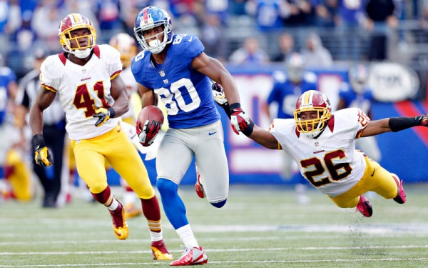 Giants contra Redskins NY