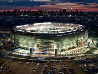 Metlife Stadium desde fuera