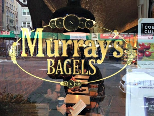 Murrays bagels new york MPVNY escaparate