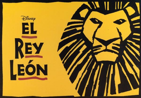 el rey león Nueva York MPVNY