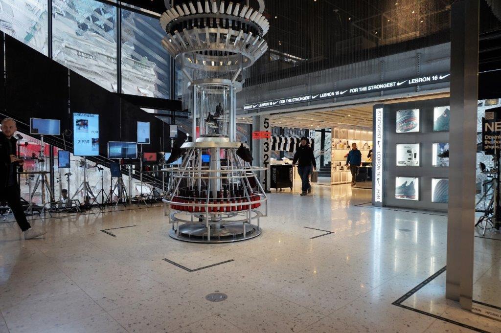 Rechazo obesidad Sentimental  La nueva tienda Nike House of Innovation en Nueva York