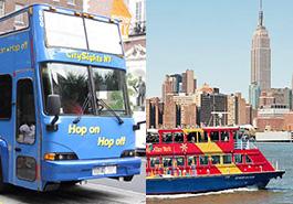 tours autobús barco new york