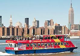 paseos en barco new york