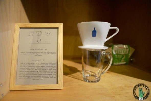 Preparación café Blue Bottle Coffee Bar