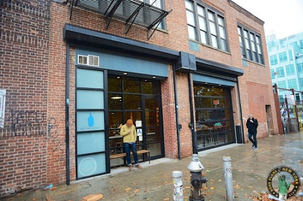 Blue Bottle Coffee Bar desde fuera NY
