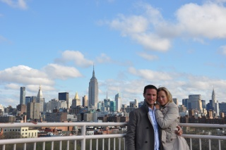 pareja nueva york terraza
