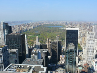 Central Park desde el Top of the Rocks NYC