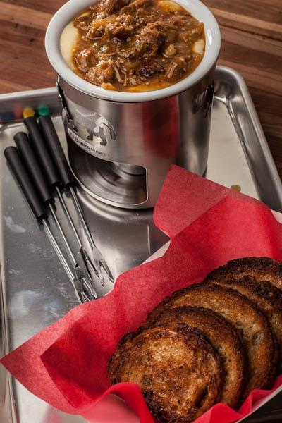 Hudson Hotel New York fondue