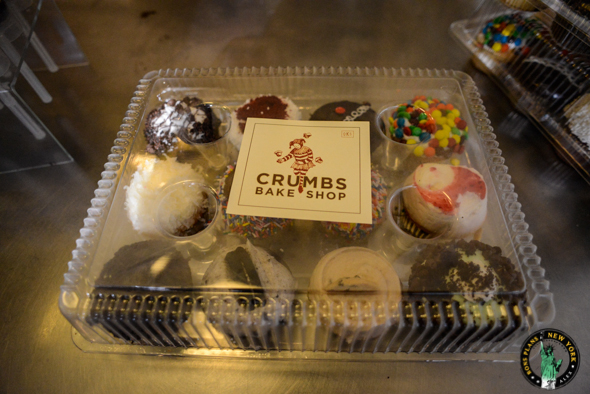 Crumbs Bake Shop NYC cupcake box