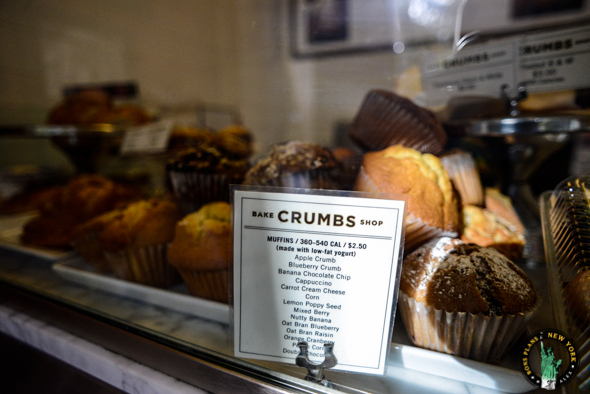 muffins Crumbs Bake Shop NYC