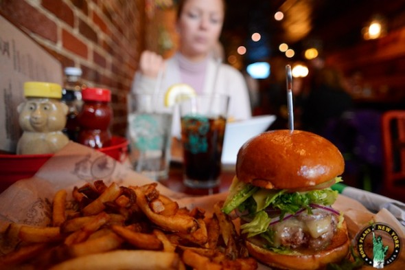 bareburger chelsea NY the california burger