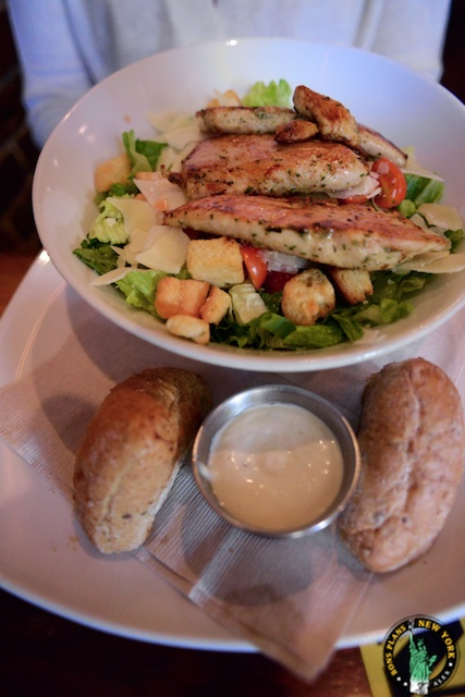 bareburger chelsea NYC ceasar salad