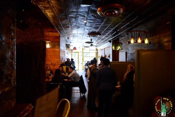 bareburger chelsea NY interior