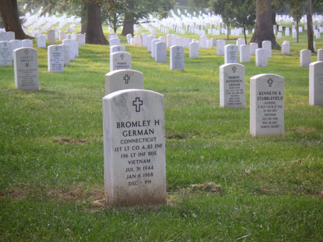 cementerio nacional Alrington