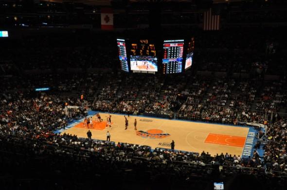 Knicks cancha