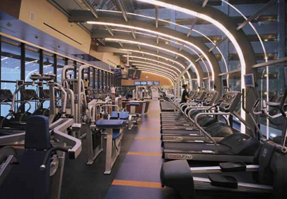 sala fitness hotel marriot marquis new york